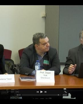 """Predstavljanje """"Medijametra"""" u Evropskom parlamentu"""