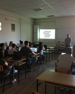 """Projekat """"Danas mladi, sutra lideri"""" i u Pančevu"""