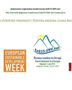 Najava: Panel Evropske vrednosti i životna sredina: uloga medija