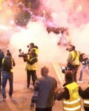Fairpress.eu: Generalni je utisak da su mediji i o poslednjim protestima u Podgorici izvještavali u skladu sa svojom uređivačkom politikom