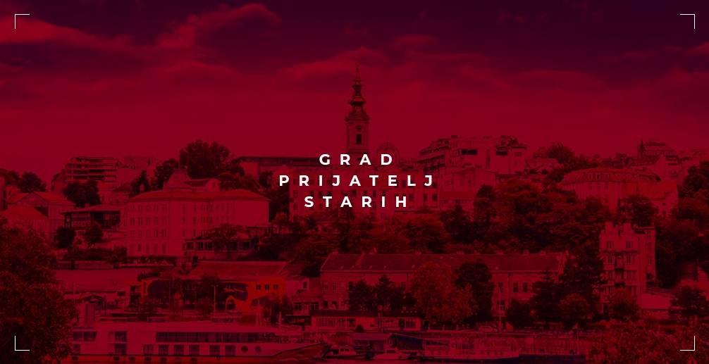 Grad prijatelj starih - Beograd i stariji