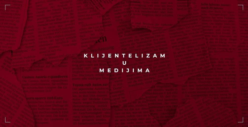 Medijski krug - klijentelizam u medijima