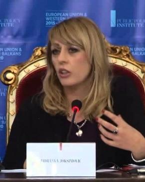 Govor Jadranke Joksimović na konferenciji EU I ZAPADNI BALKAN 2015-2020, 5.12.2014.