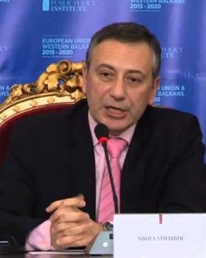 Govor Nikole Samardžića na konferenciji EU I ZAPADNI BALKAN 2015-2020, 5.12.2014.
