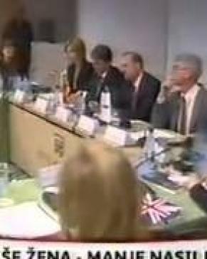"""Konferencija """"Saradnja državnih i nedržavnih aktera u sprovođenju Rezolucije UN 1325"""" - prilog TVCG"""